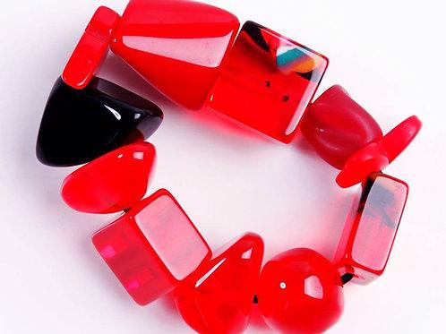 B210 Strech Bracelet - Red