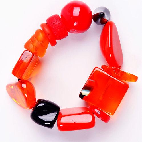 B210 Strech Bracelet - Orange