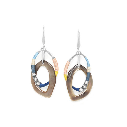 Liselle Long Hook Earrings
