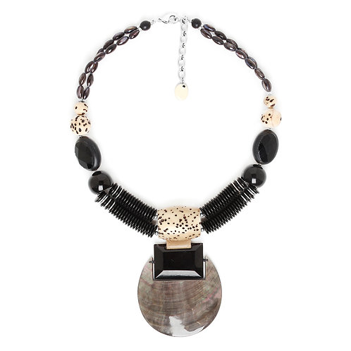 Serval Statement Necklace