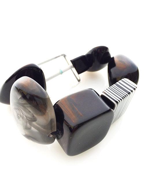 B210 Strech Bracelet - Black