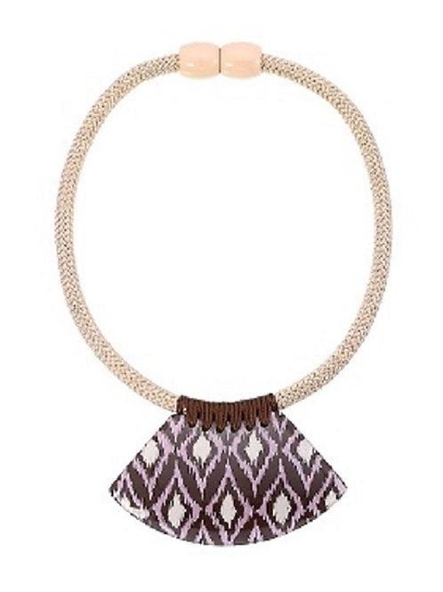 I Kat Statement Necklace - Purple
