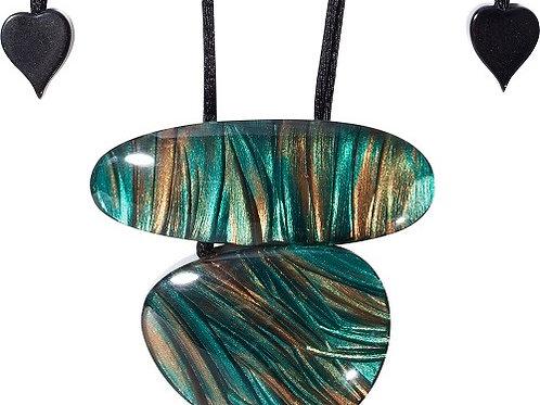 Eden Pendant - Turquoise
