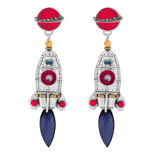 Spoutnik Earrings