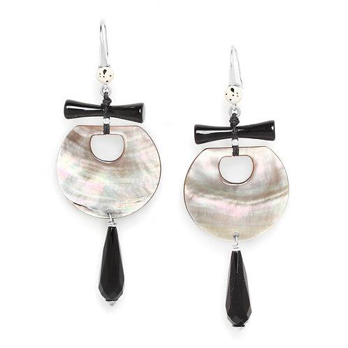 Serval Statement Hook Earrings