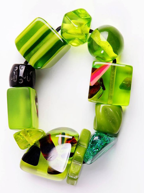 B210 Strech Bracelet - Green
