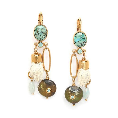 Andrea Statement Hook Earrings