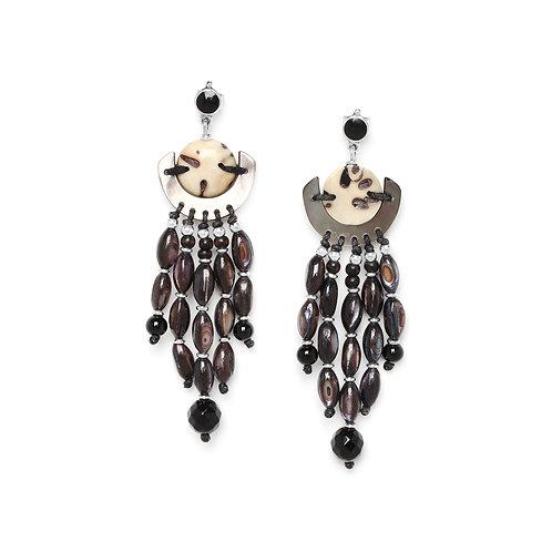 Serval Statement Earrings