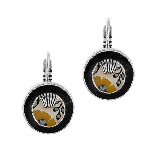 Ocre Small Hook Earrings