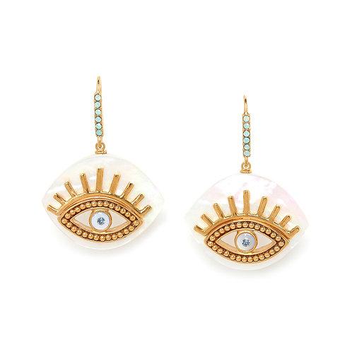 Iris Hook Earrings