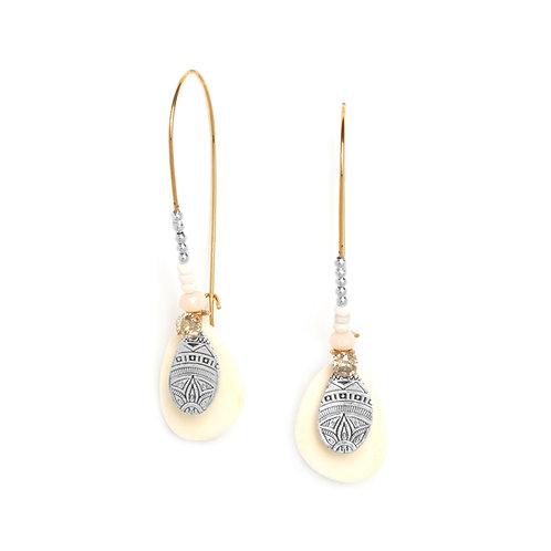 Manoa Long Hook Earrings