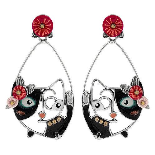 Chat Va Bien Statement Earrings