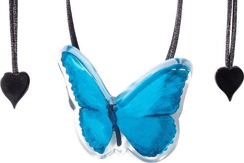 Butterfly Pendant - Blue