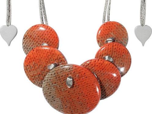 Higge Necklace - Orange