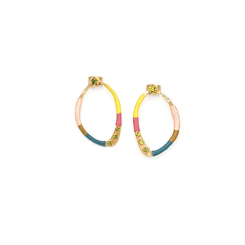 Melly small stud earrings