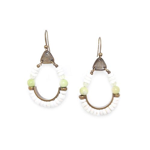 Mambare Statement Hook Earrings