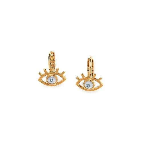 Iris Small Hook Earrings