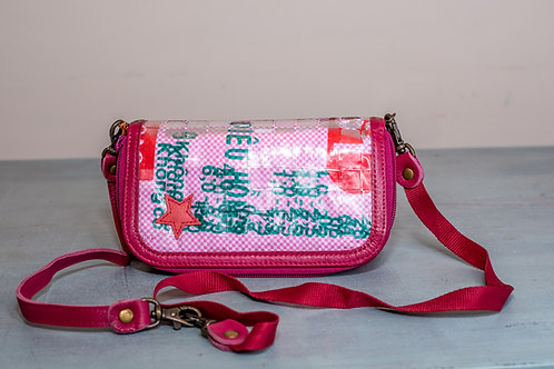 Balthazar Disco Purse-Pink-Red