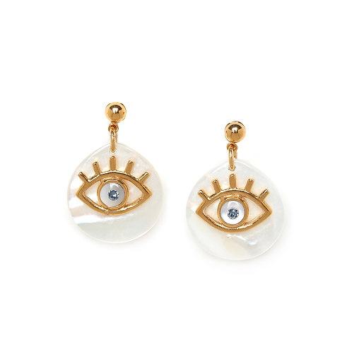 Iris Stud Earrings