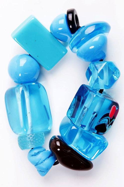 B210 Strech Bracelet - Blue