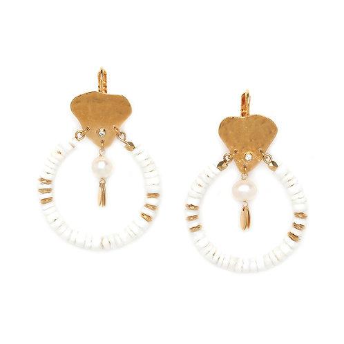 Constance Statement Hook Earrings