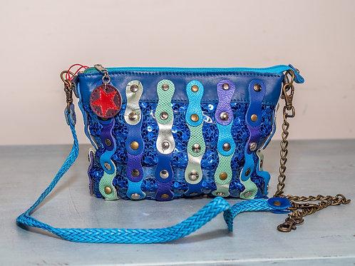 Hung Ibiza evening bag - Blue