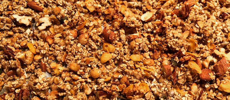 Crunchy Proteinmüesli ohne Zucker