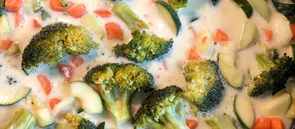 Cremige Gemüsepfanne - vegan
