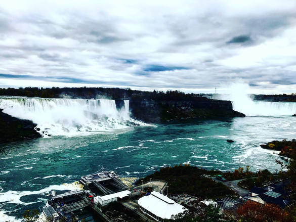 Hit the Niagara Falls in 2017!