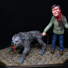 'A Boy and his Wolf' : American Werewolf in London Homage
