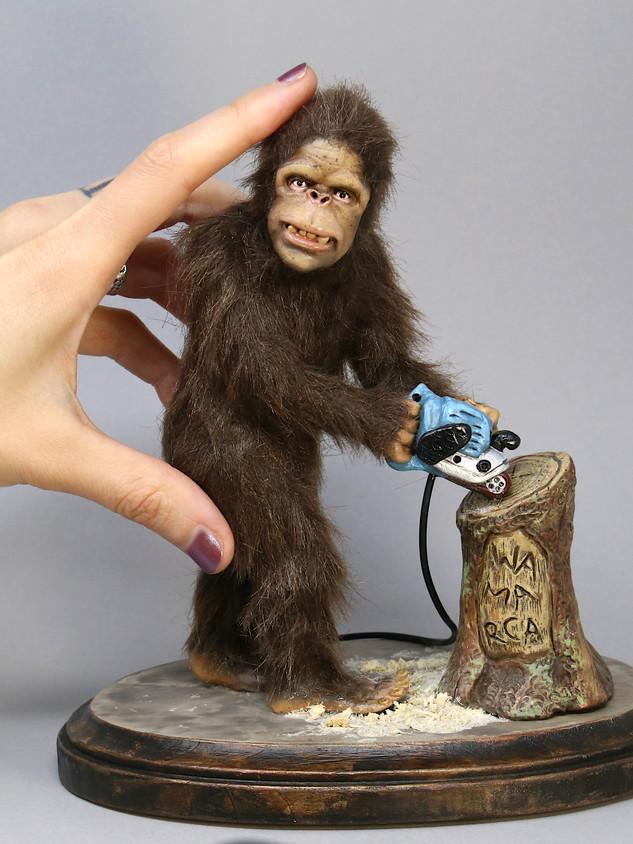 Bigfoot with a Belt Sander