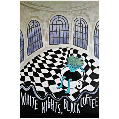 WHITE NIHTS, BLACK COFFEE