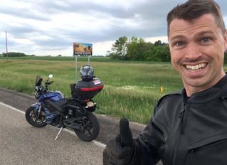 2016 ElMoto 4Corners - Minneapolis to Sioux Falls, NE