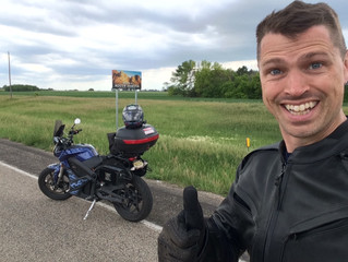 2016 ElMoto 4Corners - Minneapolis to Sioux Falls, NE