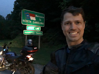 2016 ElMoto 4Corners - Moultrie, GA to Asheville, NC