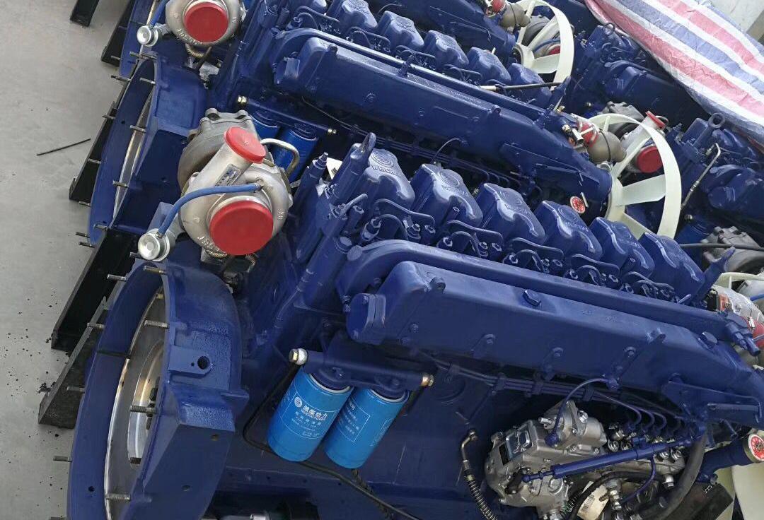 Двигатель WP10-340E32 в сборе