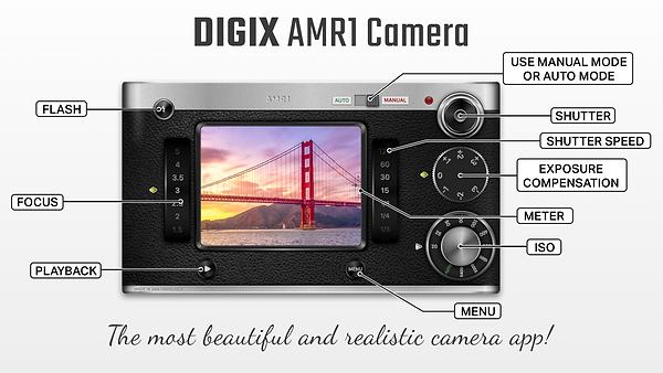 DIGIX AMR1 app manual camera