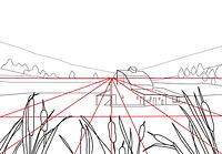 Landspace Depth photography composition rule