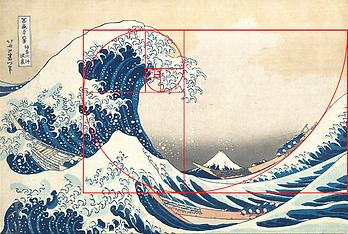 The Great Wave off Kanagawa Print by Hok