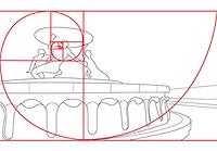 Fibonacci Spiral photography composition rule