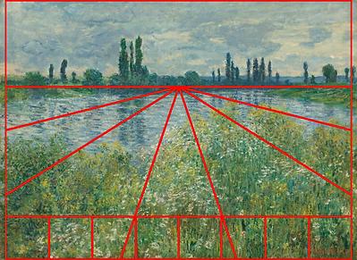 Claude Monet  Banks of the Seine Vétheui