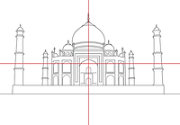 Symmetry photography composition rule