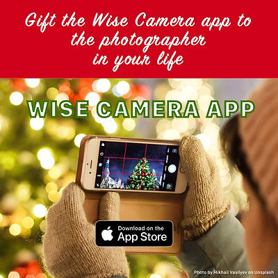 Wise Camera and Wise Photos apps for the Holidays