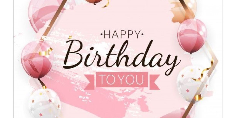Happy Birthday enjoy cosmetic!