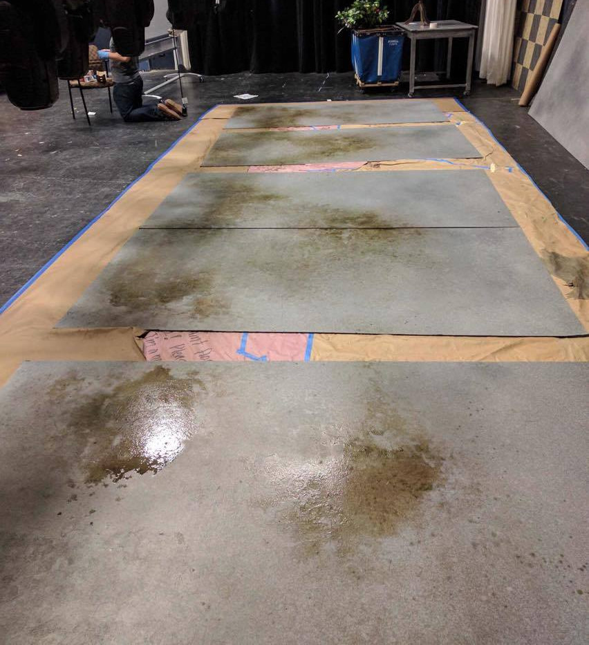 Cement Floor Treatment