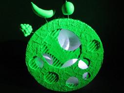 Moon, Mixed- Media Sculpture