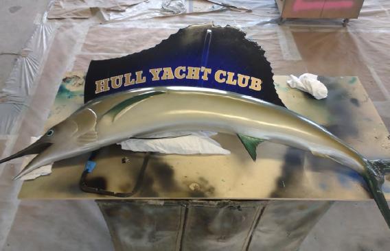 Hull Yacht Club Fish