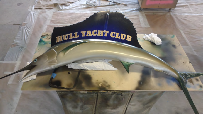 Hull Yacht Club Fish