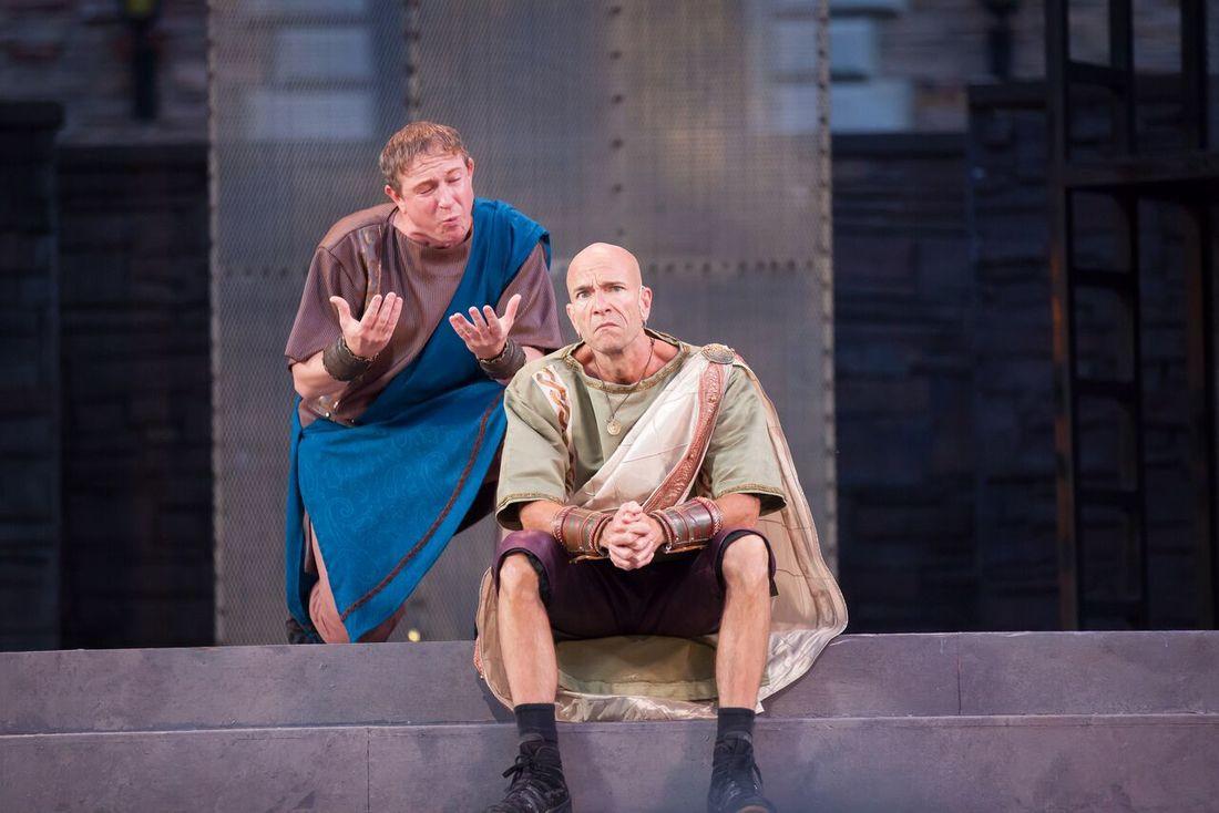 Julius Caesar Photo by Jennifer M. Koskinen, courtesy of CSF