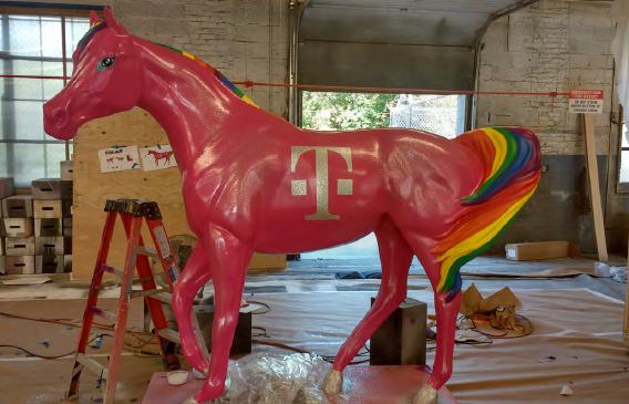 T-Mobil Pride Unicorn